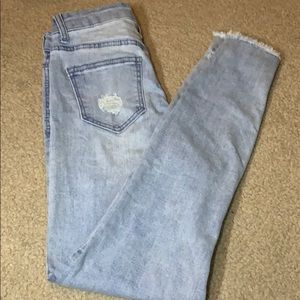 """""""ankle high rise skinny"""" celebrity pink jeans!"""